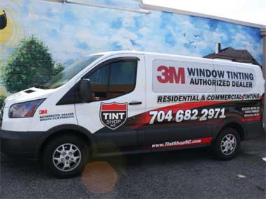 window tinting services in Denver, NC